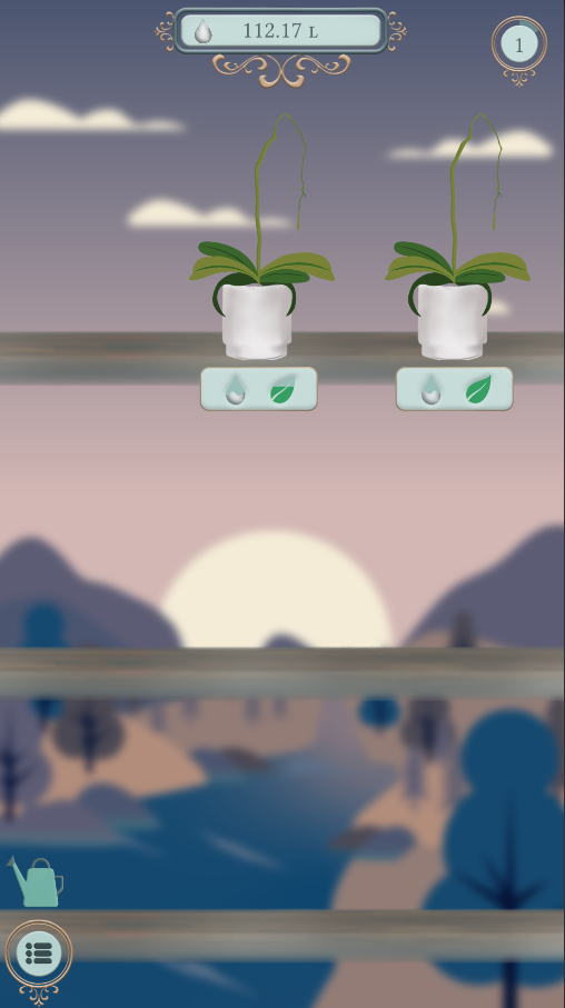 Orchids idle game